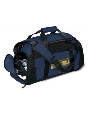 DUFFEL BAG W/EMBROIDERED SJS BASKETBALL LOGO