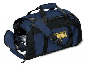 DUFFLE BAG W/EMBROIDERED SJS VOLLEYBALL LOGO